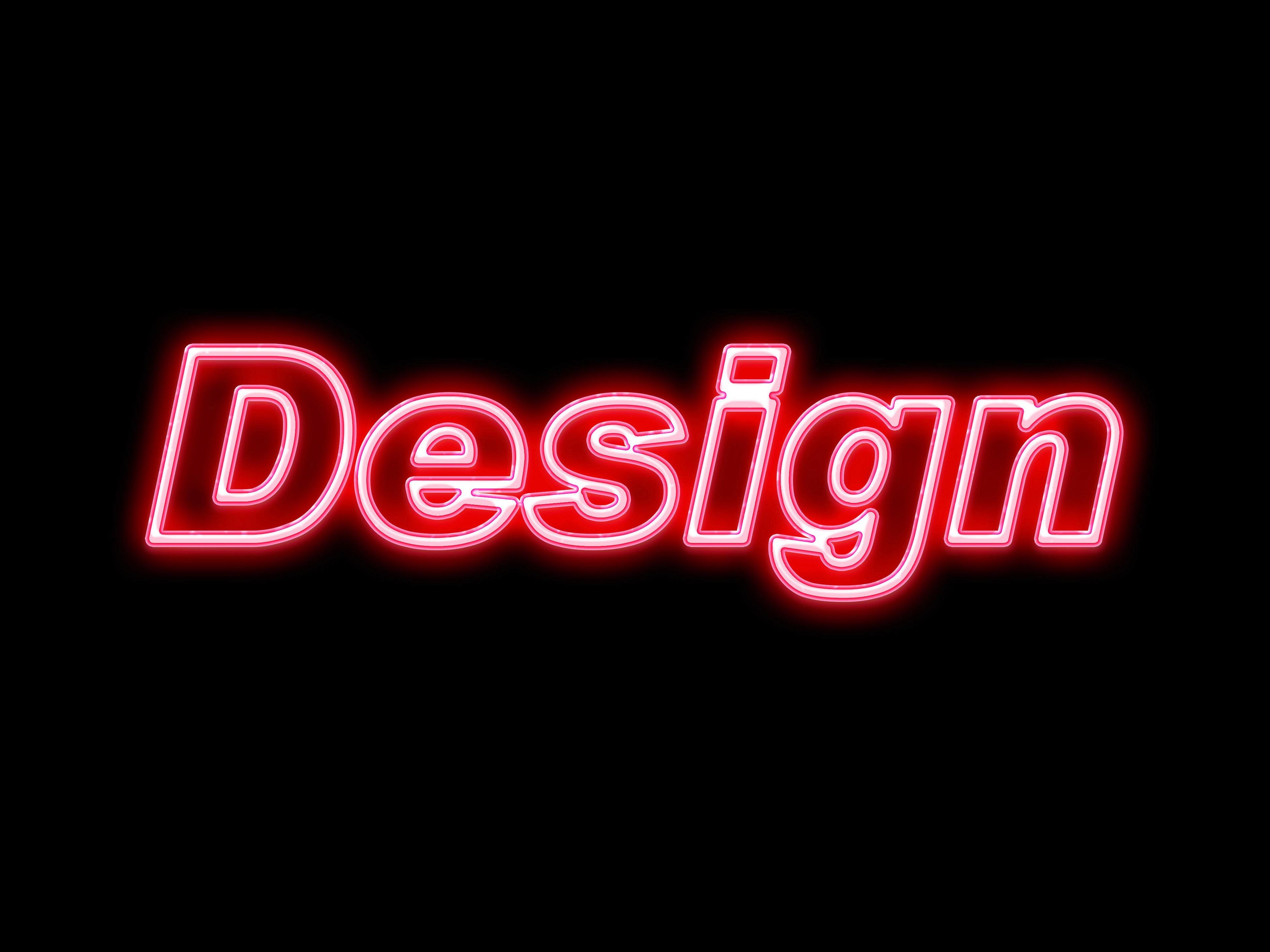 12년차 베테랑 디자이너가 네온사인 디자인 해 드립니다.