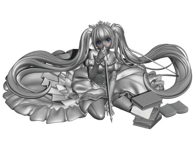 캐릭터 피규어용3D모델링 프린팅전용 제작해 드립니다.