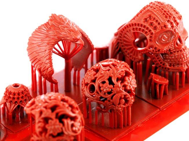 """""""주얼리전문"""" 초정밀 3D 프린터로 출력 서비스 해 드립니다."""