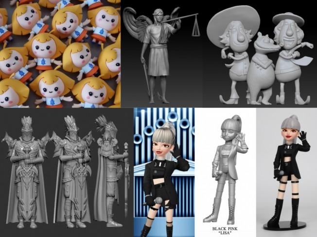 3D모델링 인물 동물 크리쳐 애니 게임 캐릭터 모델링해 드립니다.