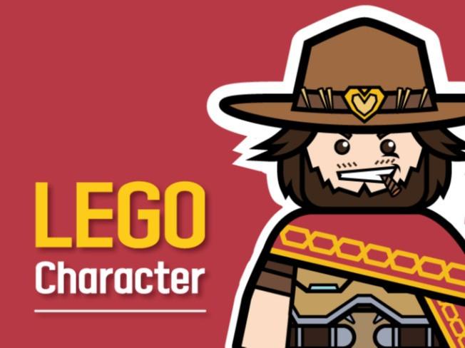 [레고] 캐릭터나 인물을 레고화 제작 해 드립니다