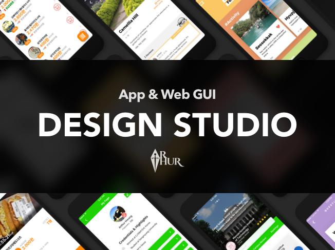 [Web/App UI 디자인 전문] 빠른 작업, 고퀄리티 디자인해 드립니다