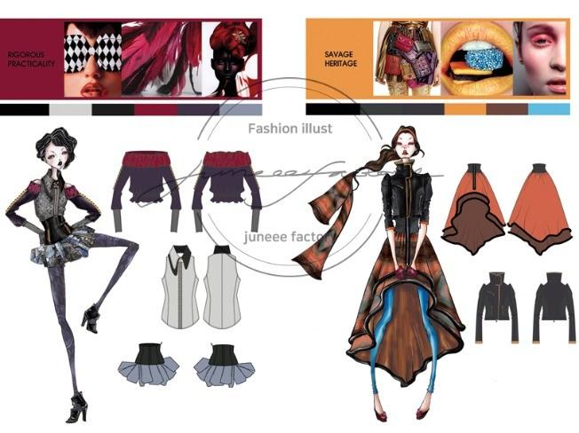패션디자인 그래픽도식화 개인 레슨및 그룹수업해 드립니다.