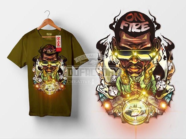 티셔츠및 의류 커스텀그래픽 디자인해 드립니다