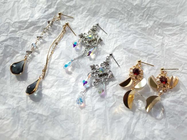 원데이  귀걸이 2개 제작  알기 쉬운 귀걸이 제작 과정을 알려 드립니다.