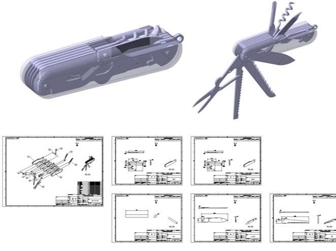 2D 도면, 3D 모델링작업을 해 드립니다.