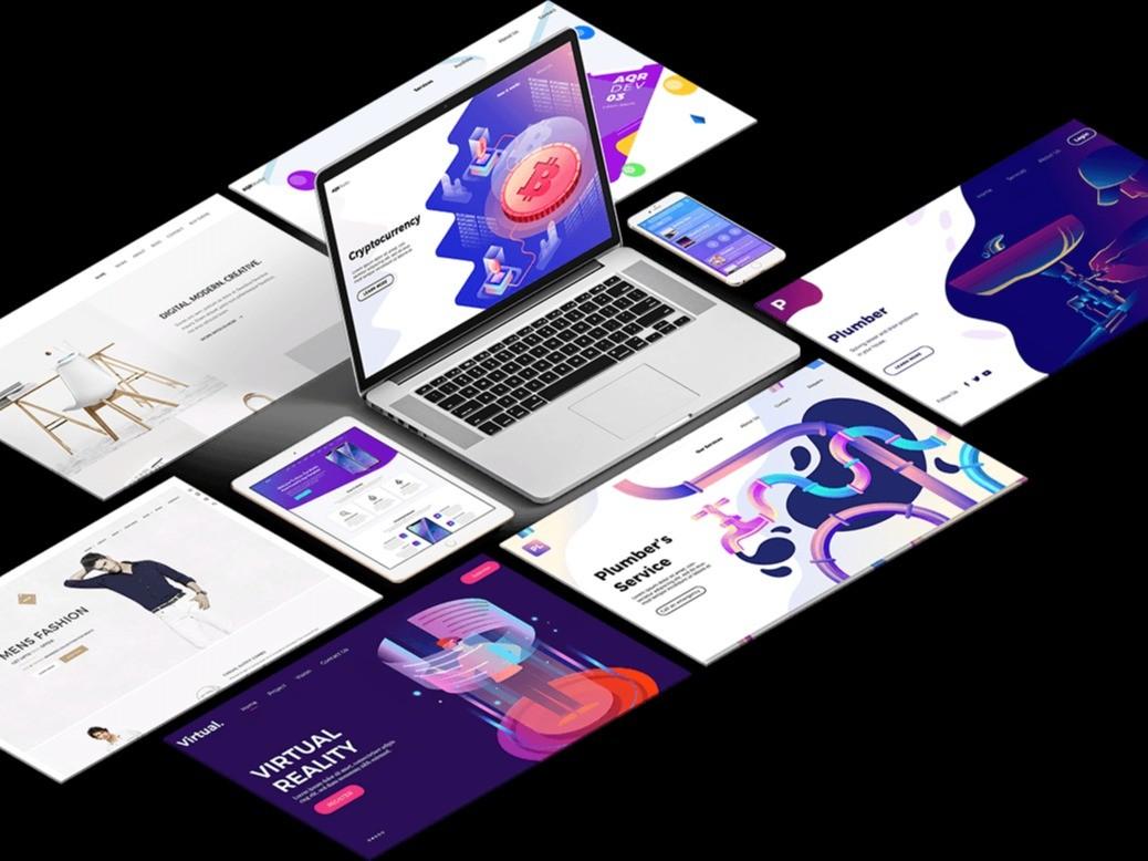 Web,App,UI,랜딩,이벤트, 원페이지 디자인해 드립니다.