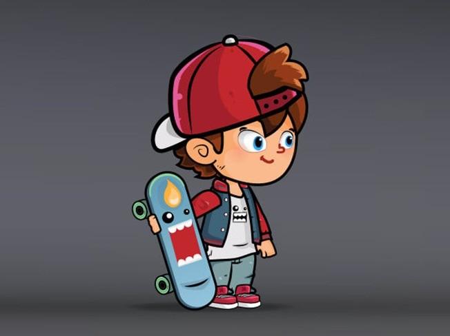 2D 게임 캐릭터 스파인 애니메이션을 제작해 드립니다.