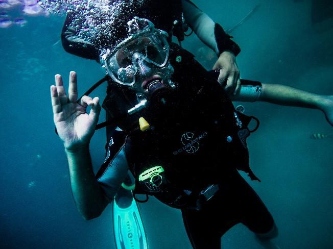 체험다이빙에 최적화 된 K26에서 원데이 스쿠버 레슨 드립니다