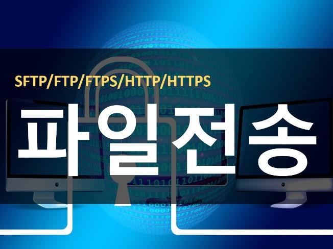 솔루션 기반 SFTP  FTP 서버 구축 지원해 드립니다.