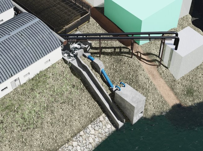 토목 플랜트발전설비기계건축 조감도 투시도 보고서 삽화해 드립니다.