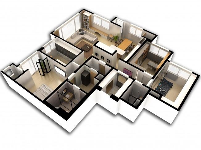 인테리어 디자인 CAD3D MAX를 제작해 드립니다.