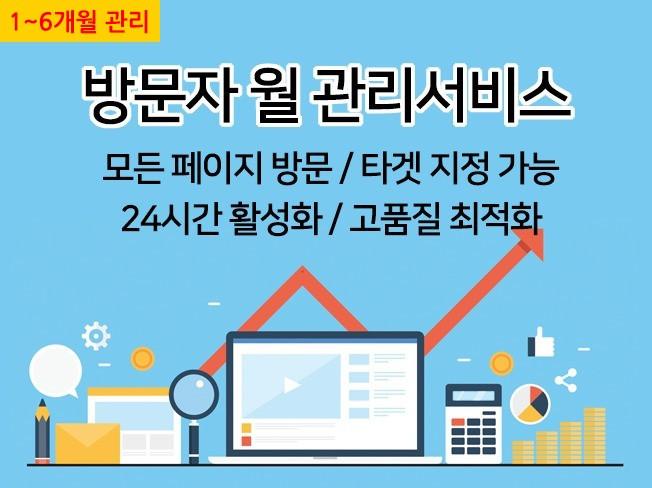 [카페,블로그,사이트] 고가치 방문자(트래픽) 서비스를 드립니다