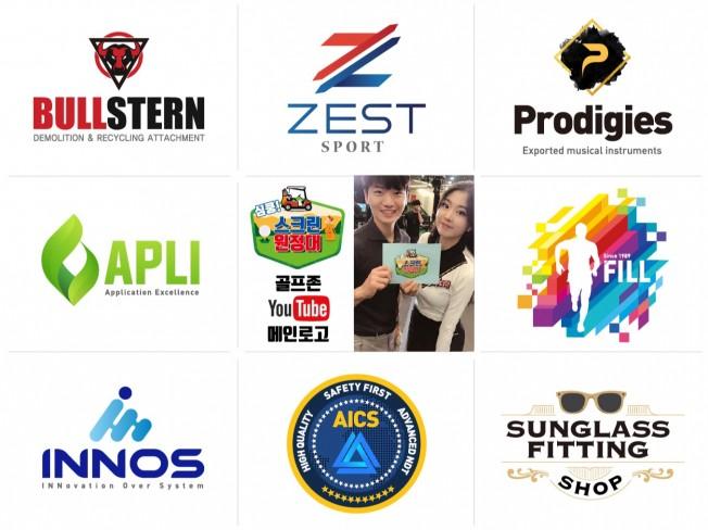 15년경력 디자인 업체가 수준 높은 로고 제작해 드립니다.