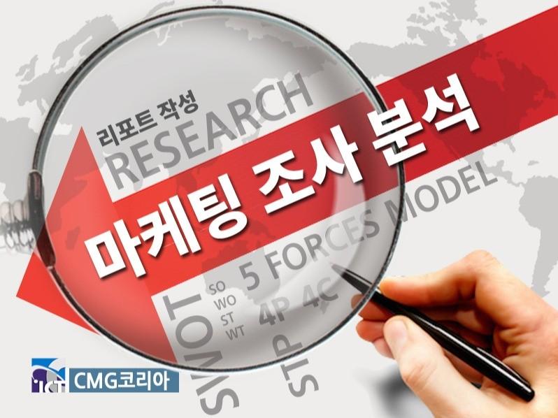 마케팅 프레임워크를 위한 조사, 분석 리포트 작성해 드립니다.