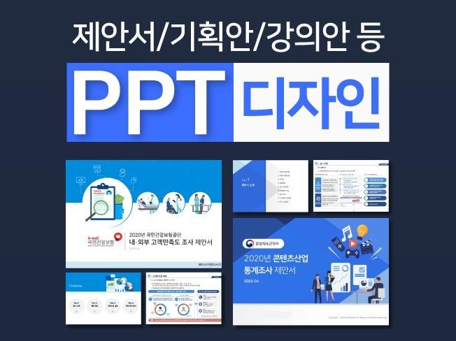 제안서, 회사소개서, 보고서 등 비즈니스 PPT 제작해 드립니다.
