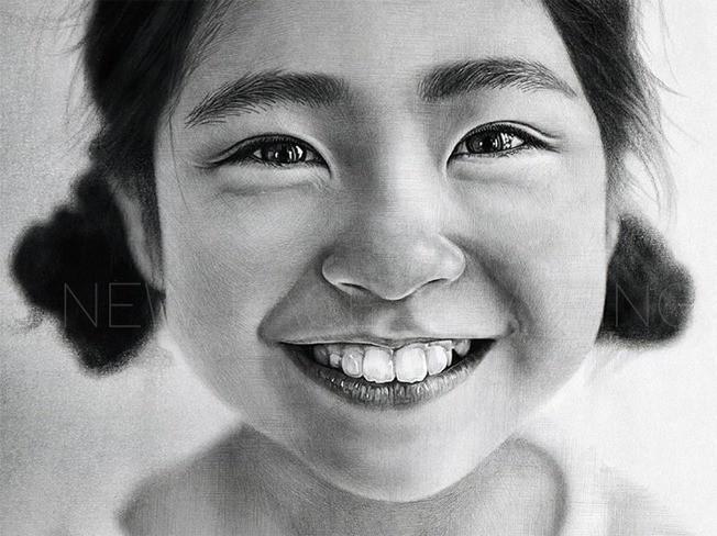 리얼한 고퀄리티의 연필 초상화 [정밀 초상화] 그려 드립니다