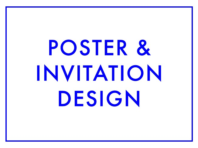 포스터, 초대장, 청첩장을 디자인해 드립니다.