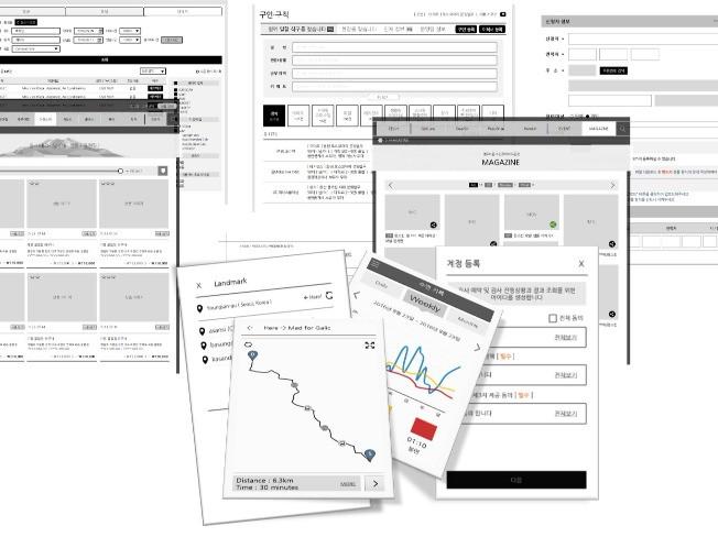 스토리보드(UI/UX 상세설계서)를 작성해 드립니다