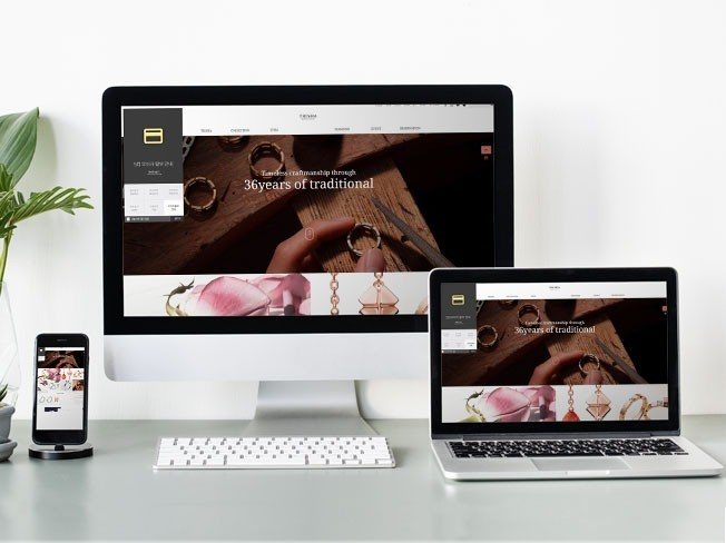 14년차 현업디자이너가 반응형 홈페이지 디자인해 드립니다.