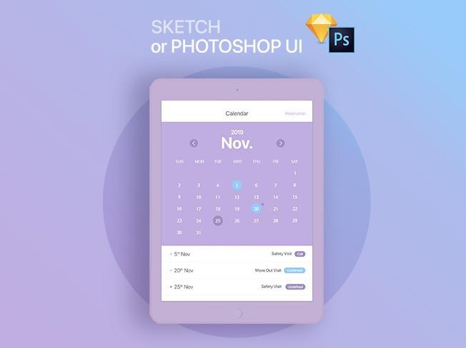 SKECH or PHOTOSHOP 으로 UI 디자인 해 드립니다.