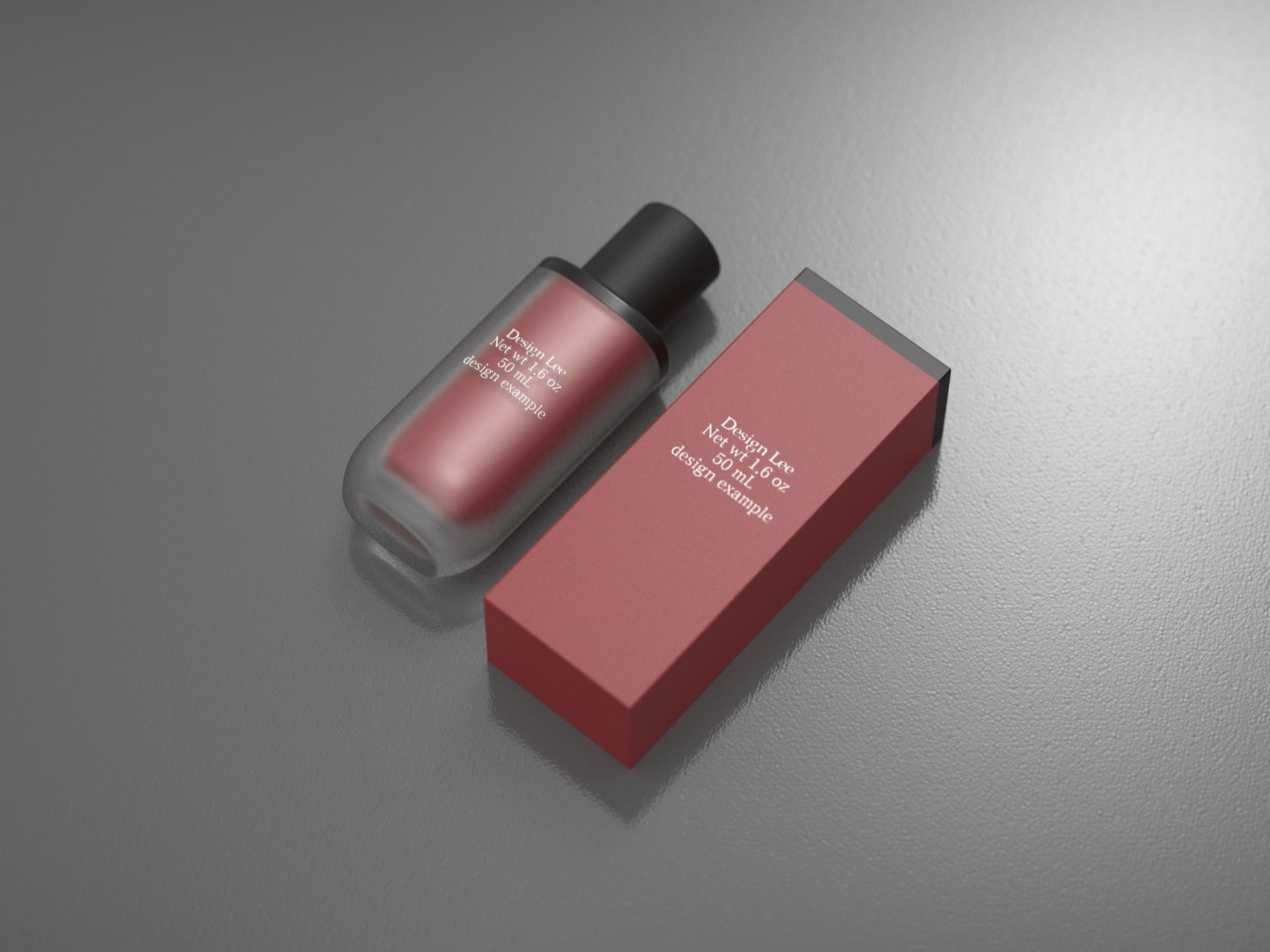 퀄리티있는 화장품, 제품 디자인 렌더링 모델링 해 드립니다.