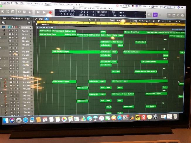 Logic proX로 오케스트라,영화음악 레슨 드립니다