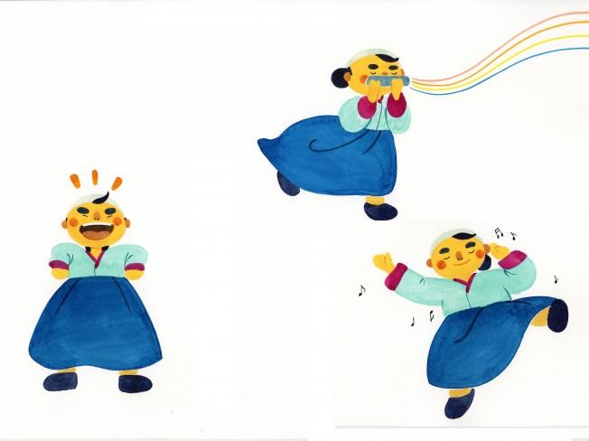 캐릭터 디자인과 감성 일러스트레이션을 그려 드립니다.