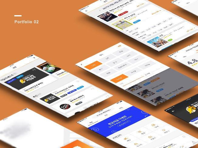 [UI/UX] 편리하고 트렌디한 앱 or 웹 디자인 작업해 드립니다