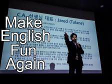 원어민 수준의 영어 회화 과외드립니다.