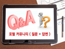 대표포털 질문&답변(Q&A) 서비스 해드립니다.
