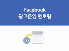 [페이스북 광고] 실무자 또는 대표님이 직접 운영하실 수 있도록 멘토링해드립니다.