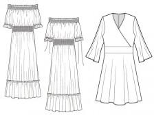 의류 및 잡화 디자인 / 패션도식화 / 스포츠의류 / 작업지시서 만들어드립니다.