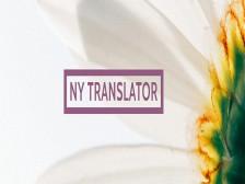 뉴욕거주10년/ 한영,영한 번역 8년/ 논문초록/ 논문/ 일반문서 번역해드립니다.