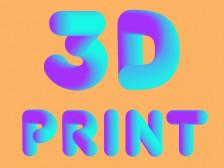 3d Printer 출력해드립니다.