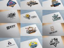 [로고왕] 원하는 스타일의 로고 CI 빠른 시간안에 만들어드립니다.