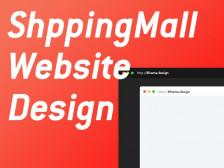 템플릿 기반의 홈페이지/쇼핑몰 제작해드립니다.