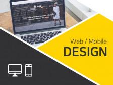 기본 웹 앱 디자인 해드립니다.