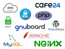 AWS, 웹서버, FTP, MySQL, HTTPS, PHP, DB이전 등을 도와드립니다.