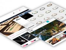 최신 트랜드 디자인의 웹 반응형 홈페이지 제작 해드립니다.