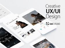 모바일 앱 (UX/UI/GUI) 기획 및 디자인 해드립니다.