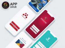 App UI 디자인 작업해드립니다.