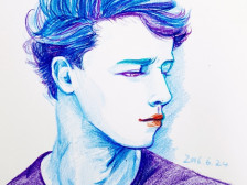 따뜻한 색감의 색연필로 세상에 하나뿐인 나만의/우리의 모습을 그려드립니다.