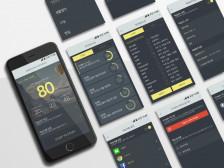 모바일앱UI,UX디자인 해드립니다.