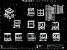 CAD 기계설비 및 전개도면 작성, 판금및 평판레이저 작성, 솔리드웍스 3D 모델링드립니다.