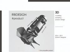 [RIBdesigN] 제품디자인/3D모델링/도면모델링/렌더링 작업해드립니다.