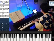 온라인으로 저렴하게 피아노 입문 레슨드립니다.