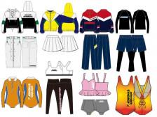 여성복/피트니스웨어/수영복/스포츠웨어/1:1맞춤도식화제작해드립니다.
