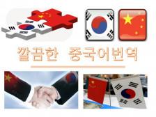 중국어번역) 실시간 깔끔한 번역으로 처리해드립니다.