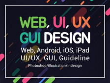 #GUI 5년# WEB/MOBILE/UI/UX 디자인을 해드립니다.